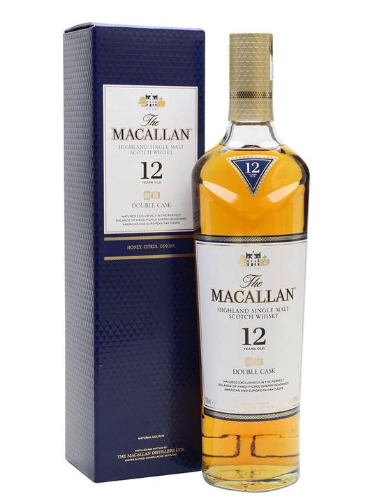 Macallan 12 Year Old Double Cask Speyside Single Malt Scotch Whisky