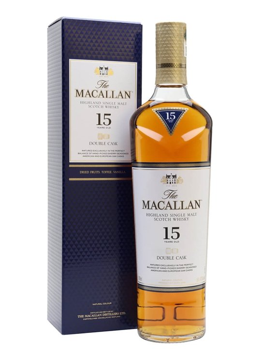 Macallan 15 Year Old Double Cask Speyside Single Malt Scotch Whisky