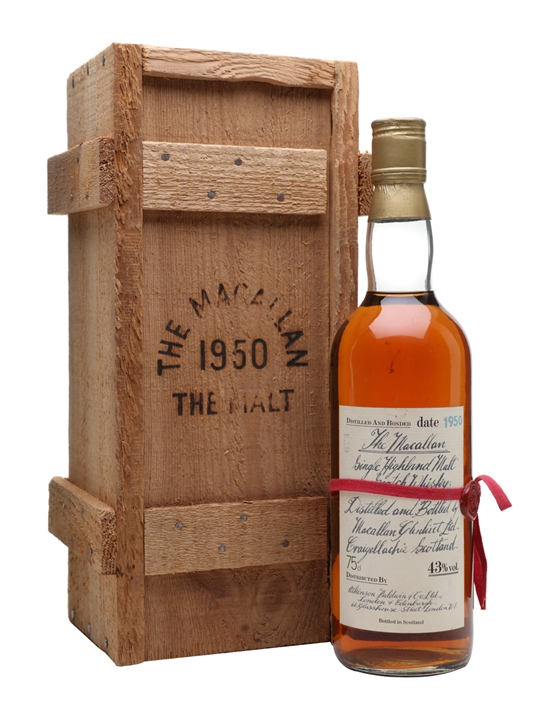 Macallan 1950 / Bot.1981 Speyside Single Malt Scotch Whisky