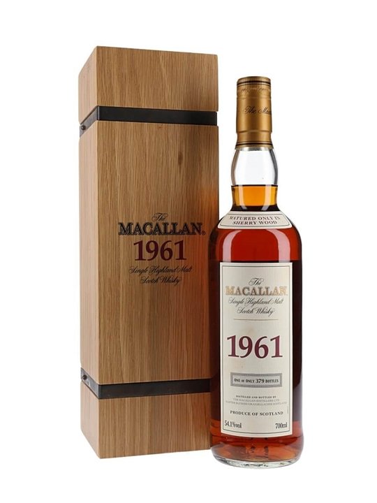 Macallan 1961 / 40 Years Old Speyside Single Malt Scotch Whisky