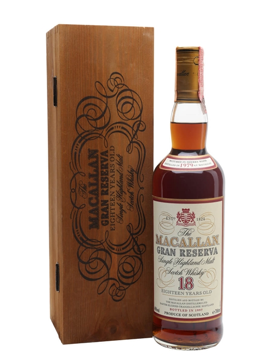 Macallan 1979 / 18 Year Old / Gran Reserva Speyside Whisky