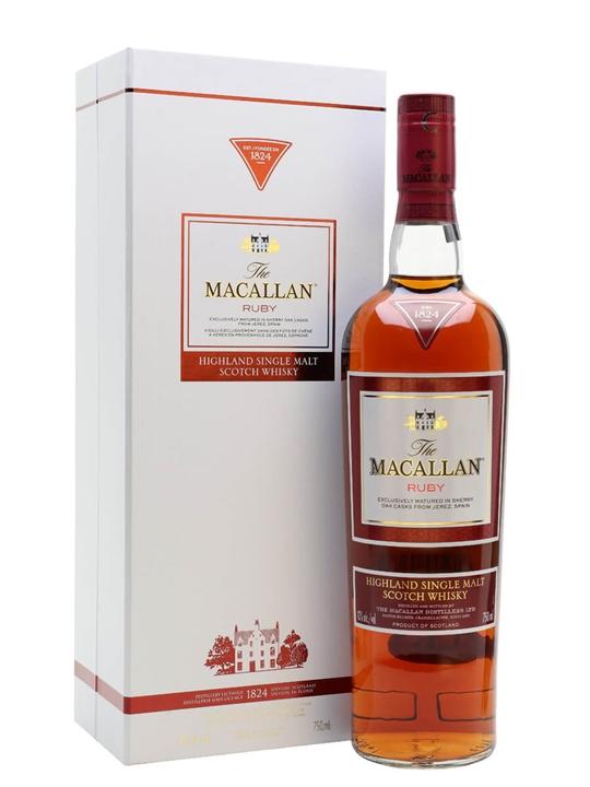 Macallan Ruby Speyside Single Malt Scotch Whisky