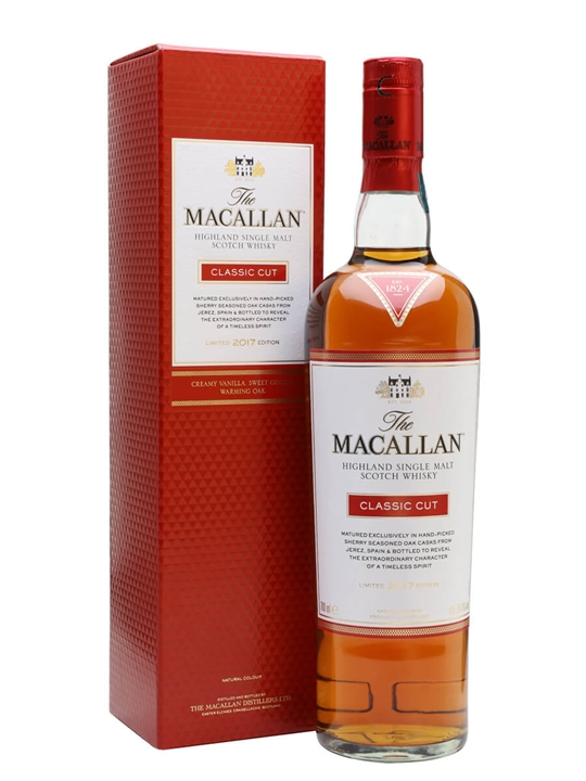 Macallan Classic Cut / 2017 Release Speyside Single Malt Scotch Whisky