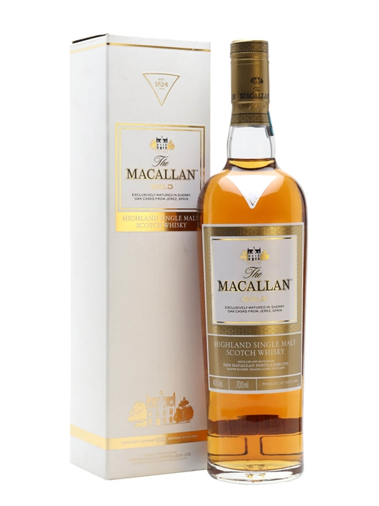 Macallan Gold  /1824 Series Speyside Single Malt Scotch Whisky