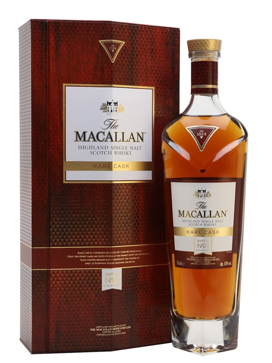 Macallan Rare Cask Batch No.1 / 2018 Release Speyside Whisky