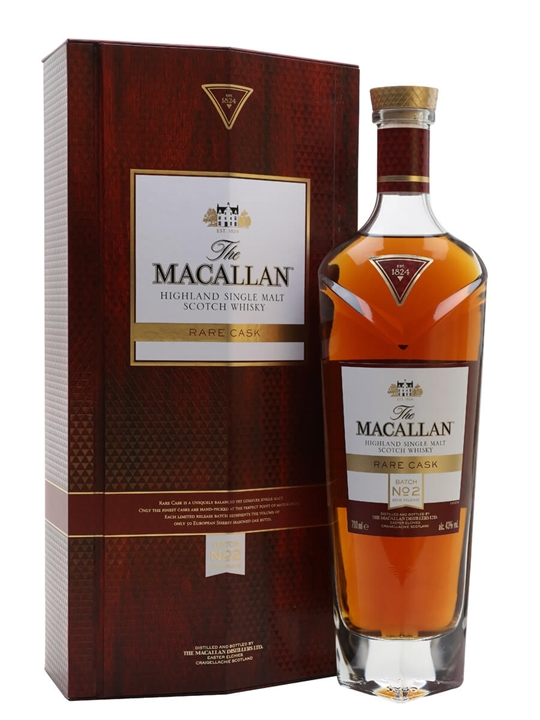 Macallan Rare Cask Batch No.2 / 2018 Release Speyside Whisky