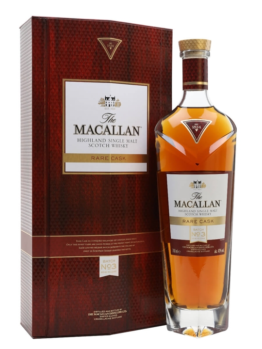 Macallan Rare Cask Batch No.3 / 2018 Release Speyside Whisky
