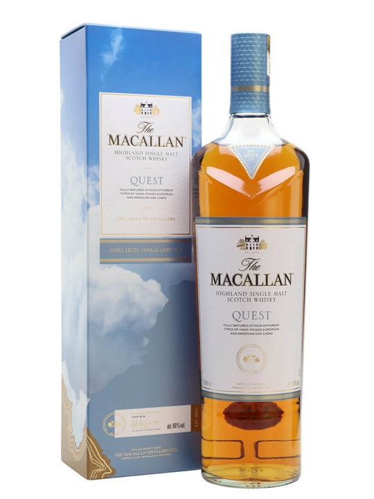 Macallan Quest Speyside Single Malt Scotch Whisky