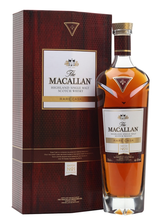 Macallan Rare Cask Batch No1 / 2019 Release Speyside Whisky