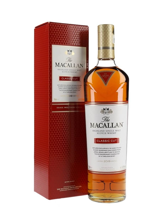 Macallan Classic Cut / 2019 Release Speyside Single Malt Scotch Whisky