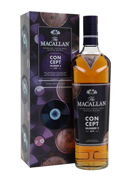 Macallan Concept No.2 Speyside Single Malt Scotch Whisky