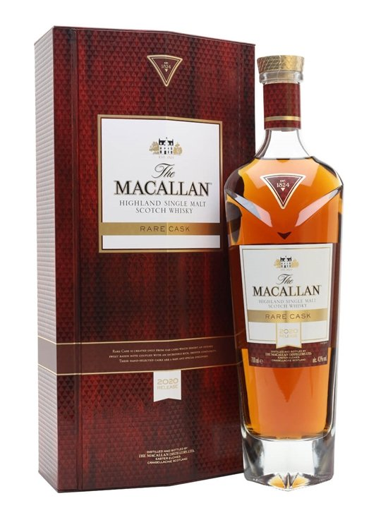 Macallan Rare Cask / 2020 Release Speyside Single Malt Scotch Whisky