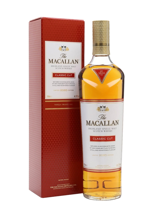 Macallan Classic Cut 2020 Limited Edition Speyside Whisky
