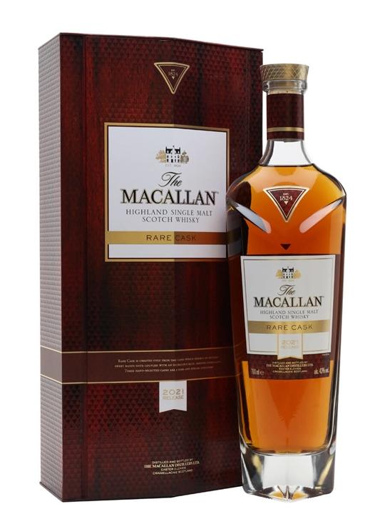Macallan Rare Cask / 2021 Release Speyside Single Malt Scotch Whisky