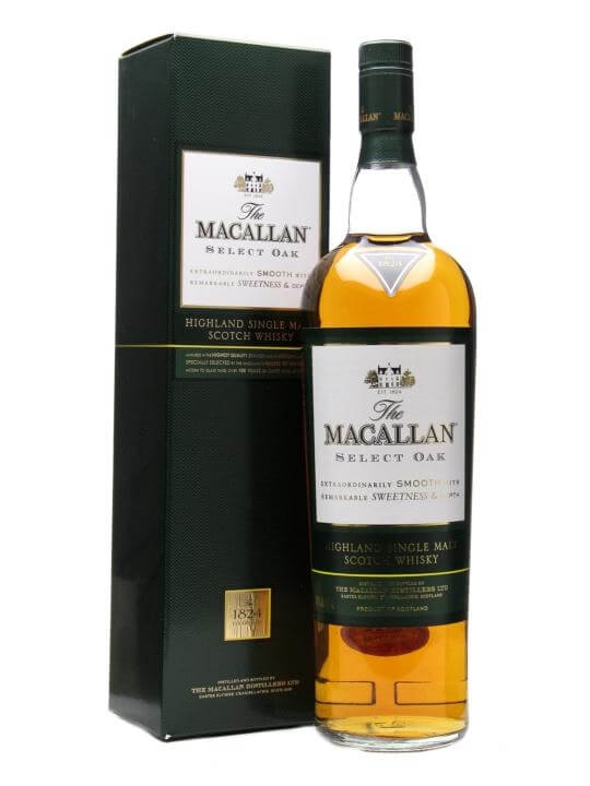 Macallan Select Oak / The 1824 Collection Speyside Whisky