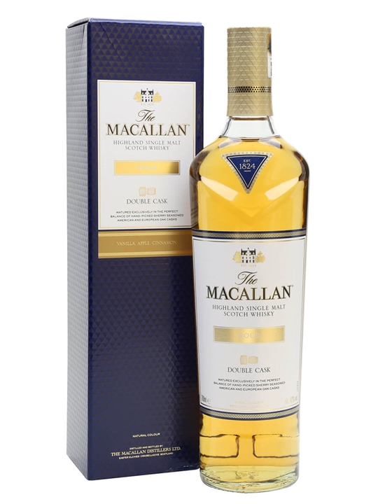 Macallan Double Cask Gold Speyside Single Malt Scotch Whisky