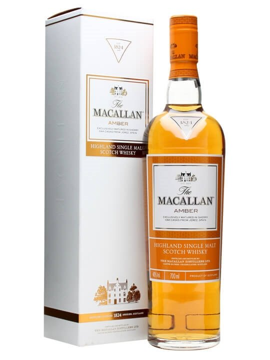 Macallan Amber / 1824 Series Speyside Single Malt Scotch Whisky