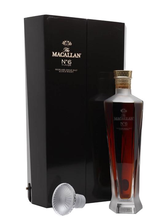 Macallan No.6 Decanter Speyside Single Malt Scotch Whisky