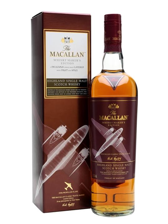 Macallan Whisky Maker's Edition Speyside Single Malt Scotch Whisky