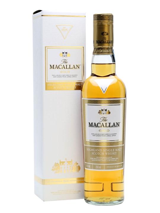 Macallan Gold / Half Bottle Speyside Single Malt Scotch Whisky