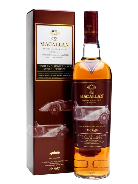 Macallan Whisky Maker's Edition / 1940s Roadster Speyside Whisky