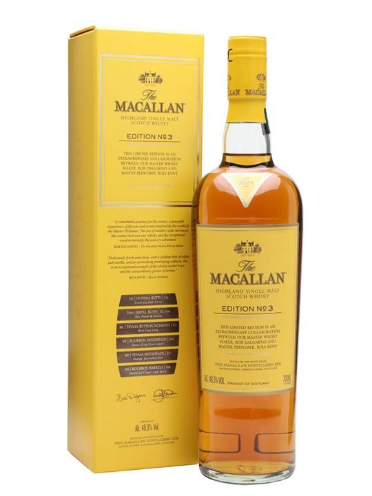 Macallan Edition No.3 Speyside Single Malt Scotch Whisky