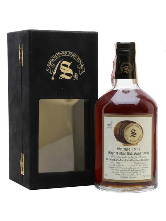 Macallan-glenlivet 1971 / 27 Year Old / Signatory Speyside Whisky
