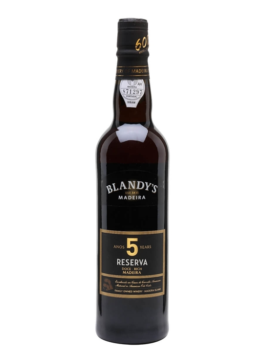 Blandy's Alvada 5 Year Old Madeira