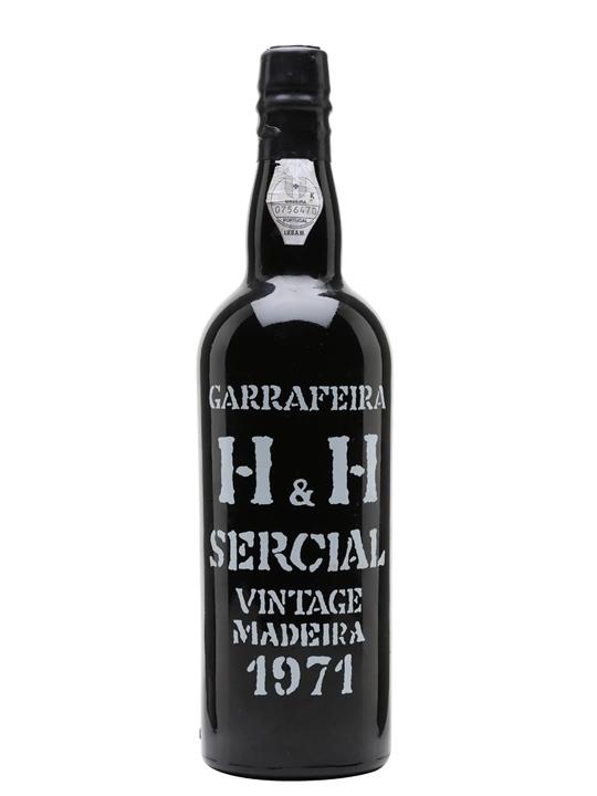 H&H Sercial Madeira Vintage 1971
