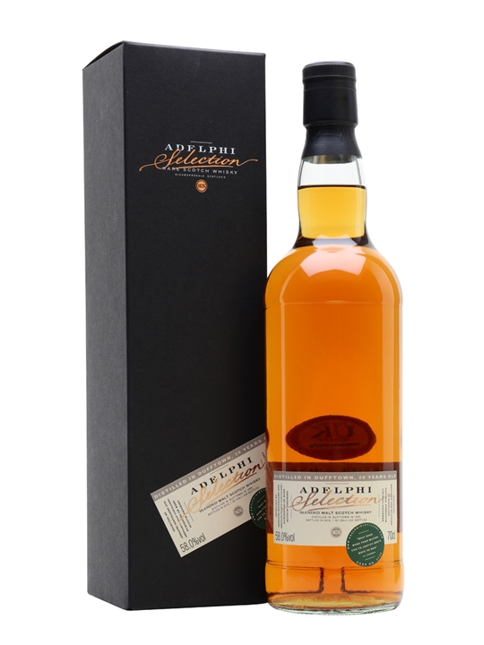 Distilled In Dufftown 1999 / Adelphi Blended Malts Scotch Whisky