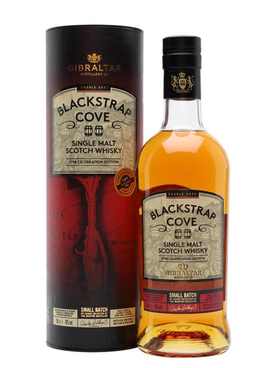 Blackstrap Cove Double Cask Single Malt Scotch Whisky Highland Whisky