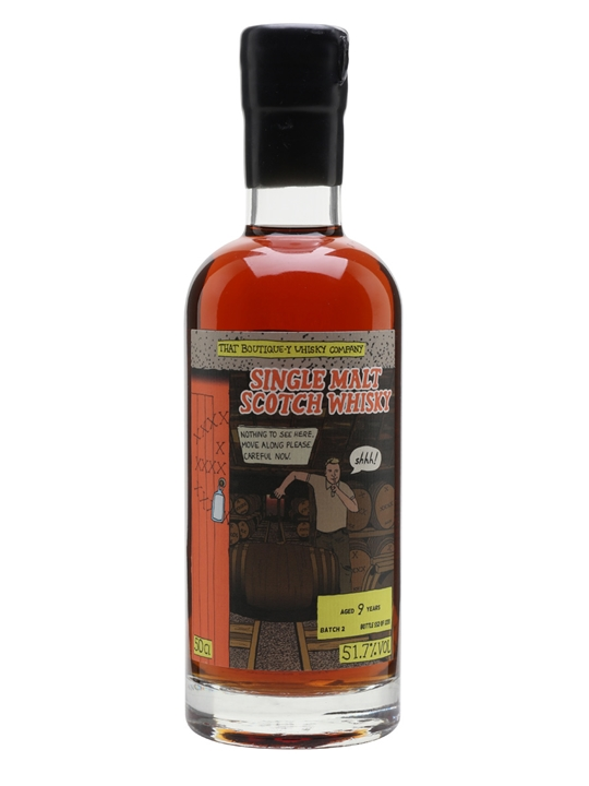 Secret Distillery #1 / 9 Year Old / Boutique-y Whisky Co Single Whisky