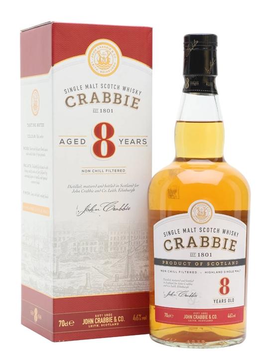 John Crabbie 8 Year Old Single Malt Scotch Whisky