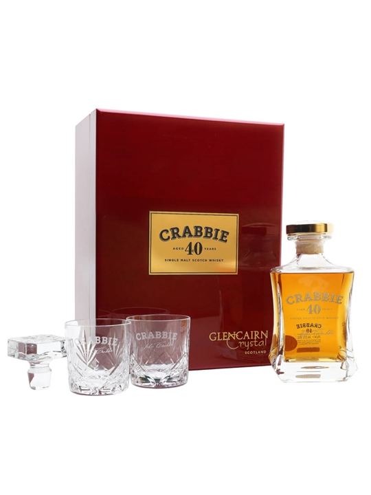 Crabbie 40 Year Old Speyside Single Malt Scotch Whisky