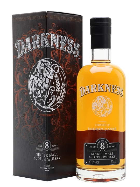 Darkness 8 Year Old / Sherry Finish Single Malt Scotch Whisky