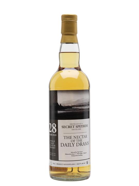Secret Speyside 1991 / 28 Year Old / Daily Dram Speyside Whisky