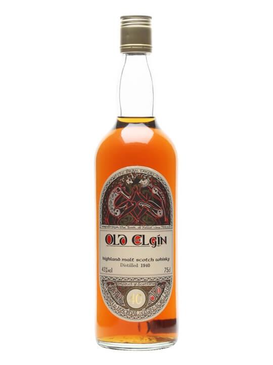 Old Elgin 1940 / 40 Year Old / Gordon & Macphail Highland Whisky