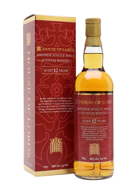 House of Lords 12 Year Old Single Malt Scotch Whisky
