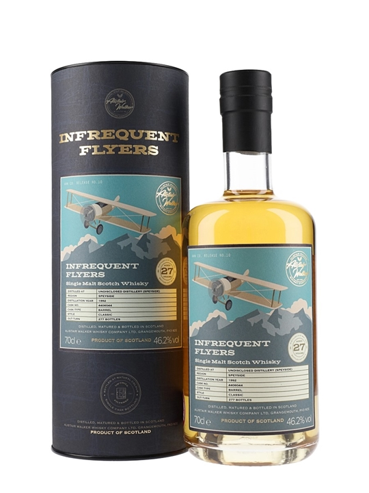 Un-named Speyside 1992 / 27 Year Old / Infrequent Flyers Speyside Whisky