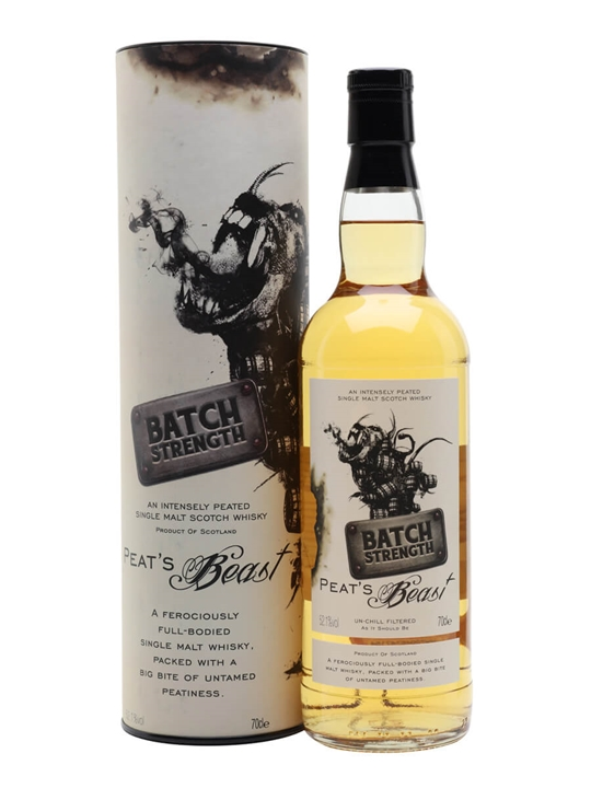 Peat's Beast Batch Strength Islay Single Malt Scotch Whisky