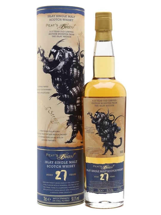 Peat's Beast 27 Year Old Islay Single Malt Scotch Whisky