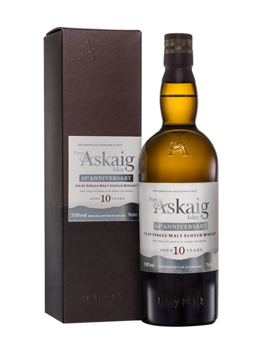 Port Askaig 10 Year Old / 10th Anniversary Islay Whisky