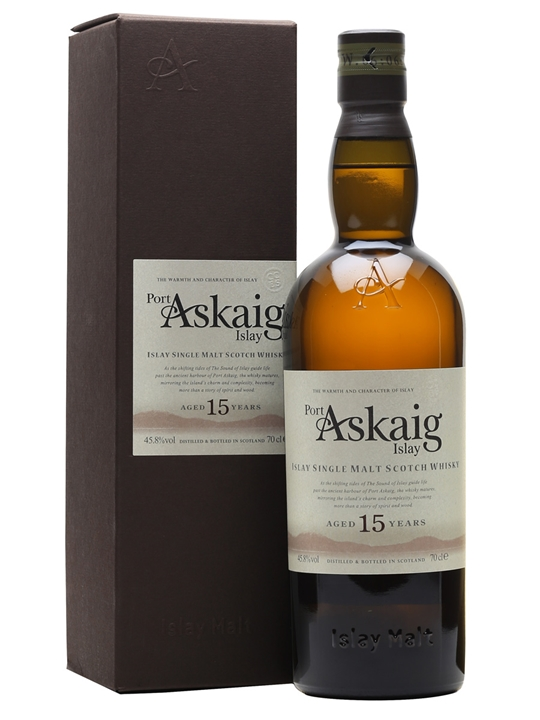 Port Askaig 15 Year Old Islay Single Malt Scotch Whisky