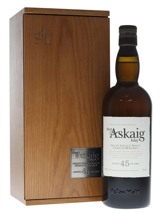 Click to view product details and reviews for Port Askaig 45 Year Old Islay Single Malt Scotch Whisky.