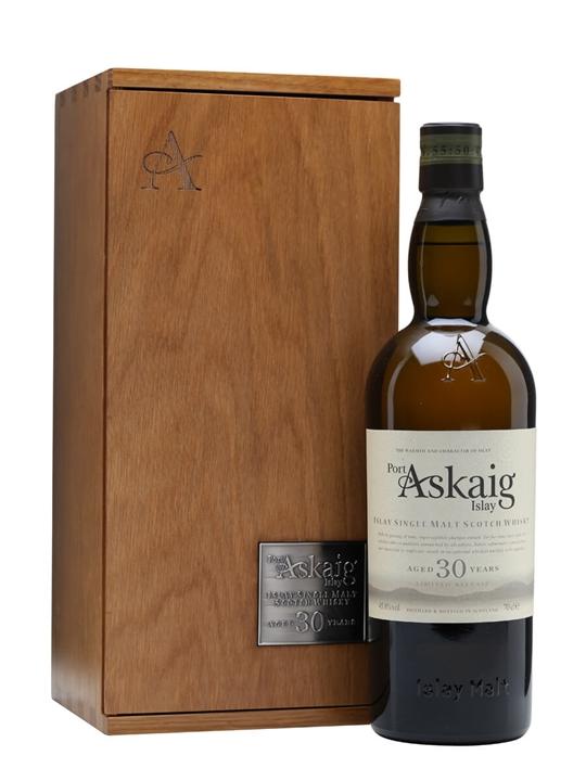 Port Askaig 30 Year Old / 2015 Release Islay Single Malt Scotch Whisky