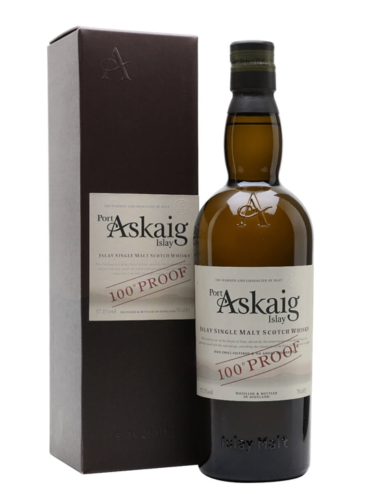 Port Askaig 100° Proof Islay Single Malt Scotch Whisky