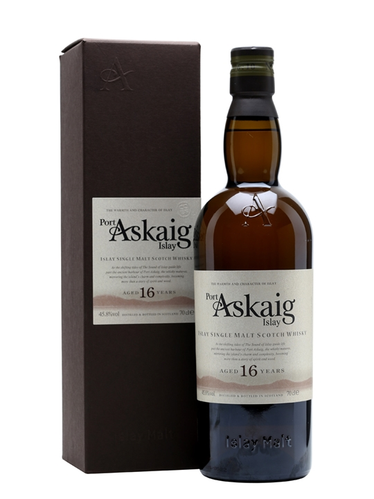 Port Askaig 16 Year Old Islay Single Malt Scotch Whisky