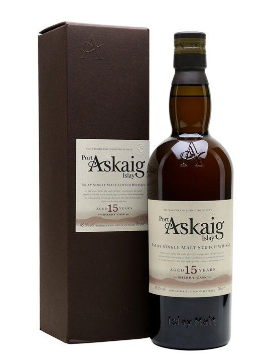 Port Askaig 15 Year Old Sherry Cask Islay Single Malt Scotch Whisky