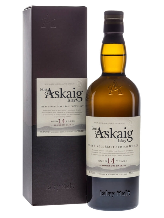 Port Askaig 14 Year Old / Bourbon Cask Islay Single Malt Scotch Whisky