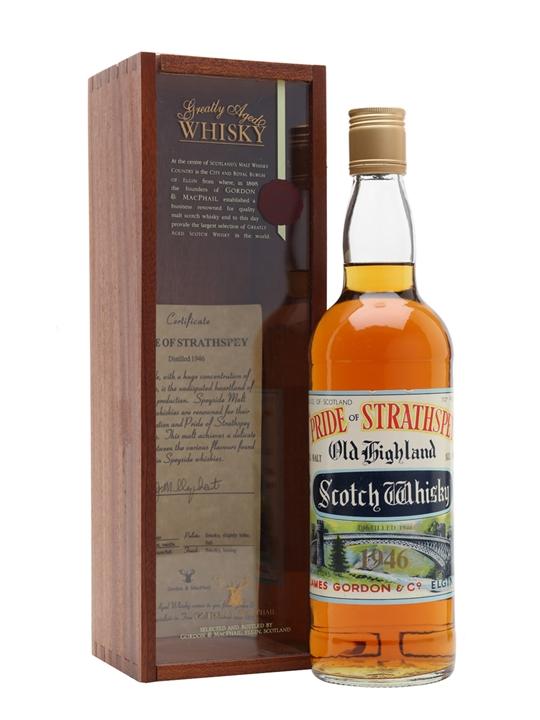 Pride Of Strathspey 1946 / Bot.1970s Speyside Whisky
